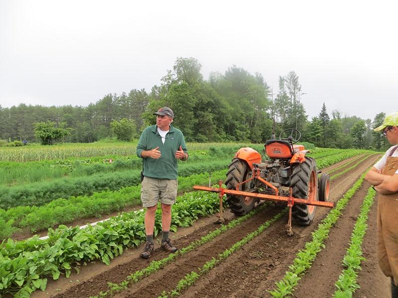Tim Taylor teaching new farmers