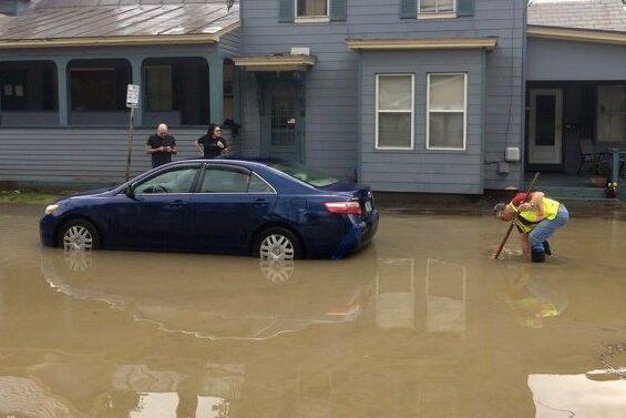 Church Street Flood