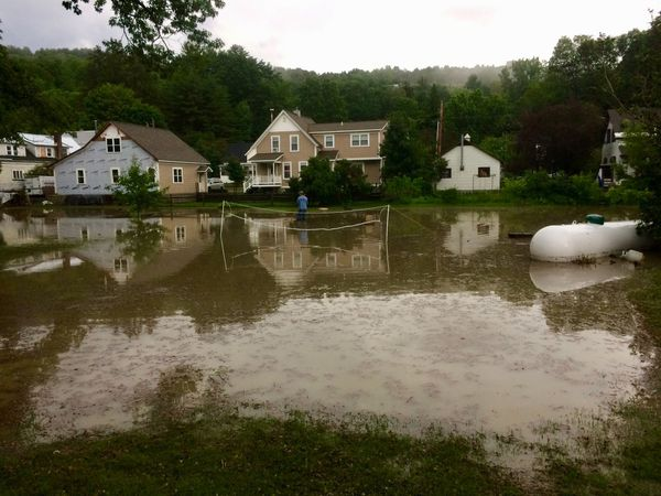 Hartford Village Flooding
