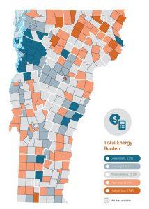 impact of energy burden in Vermont