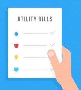 utility bills graphic